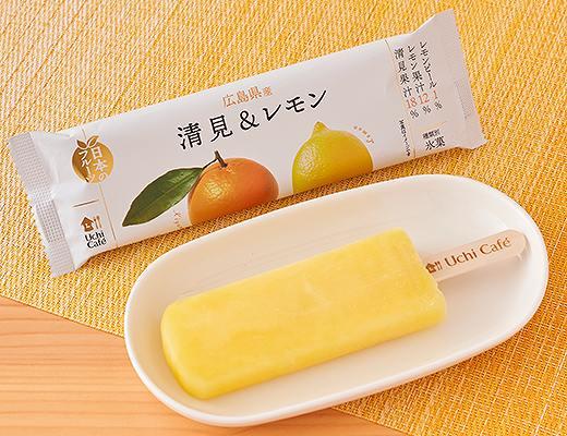 ウチカフェ 日本のフルーツ 広島県産清見&レモン 80ml