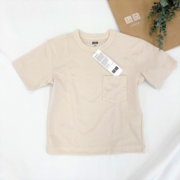 エアリズムコットンクルーネックTシャツ