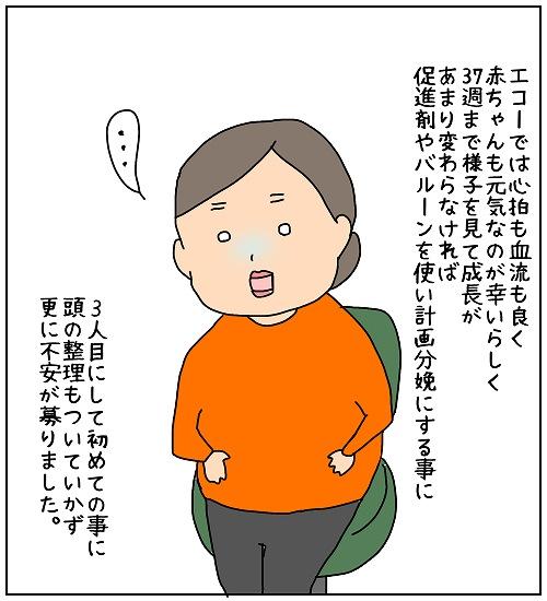 【ナガタさんちの子育て奮闘記~育児マンガ~】「胎盤機能の低下!?」