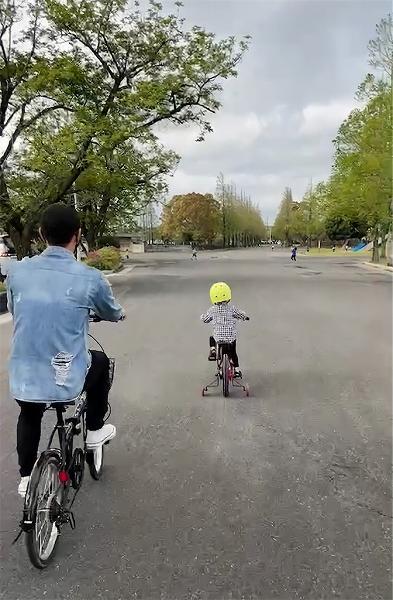 久しぶりに4人で👨👩👦👦自転車🚲でお出かけ🌈【人気インスタグラマー@ask_____10ブログ】