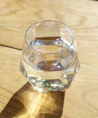 【WEB限定商品】六角オーロラグラス