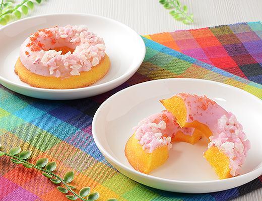 パッチリング -パッチパチしたしっとり焼きドーナツ-