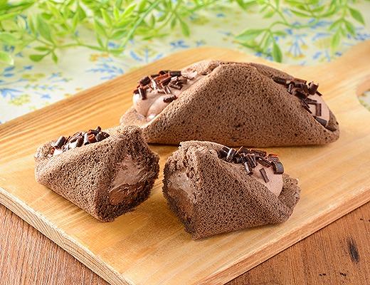 クルリン -ザクふわくるりんケーキ(チョコ)-