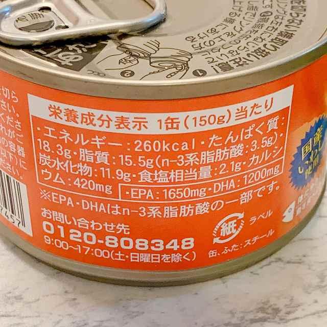 いわしの味噌煮 エネルギー