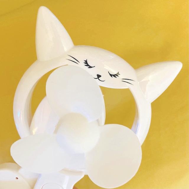 私が購入したタイプは猫の可愛い顔が描いてあります!