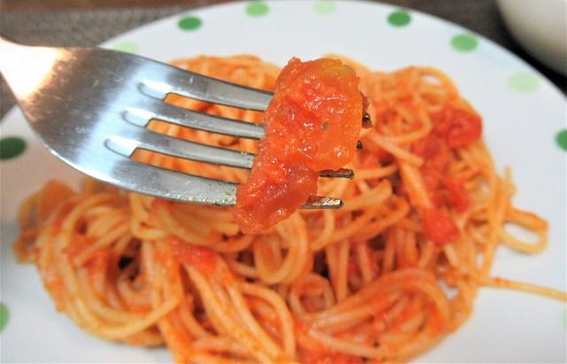 トマトの果肉も入って食べ応えがあります