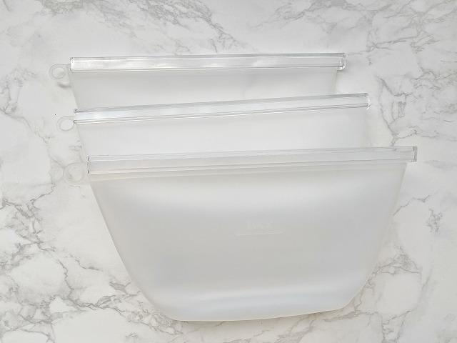 ダイソー シリコーン保存袋