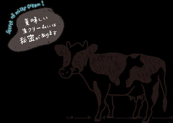 生クリーム専門店Milkとのコラボ
