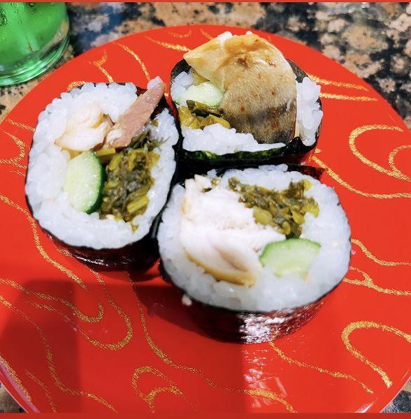 焼き鯖高菜ロール