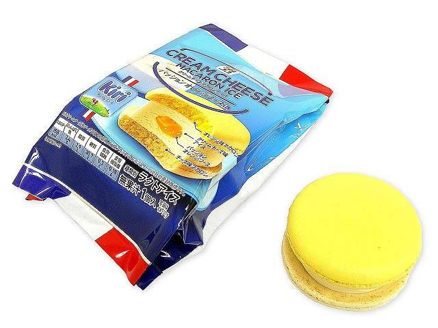 7プレミアム クリームチーズマカロンアイス