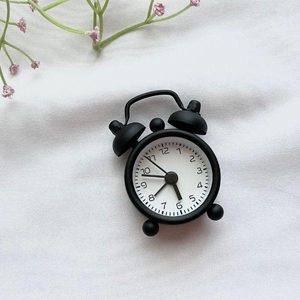 ダイソーミニ目覚まし時計