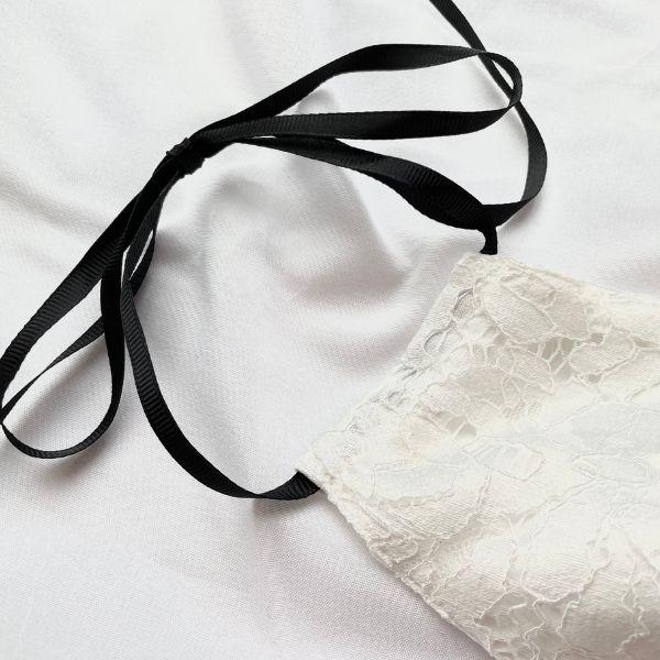 リボンレースマスクの紐