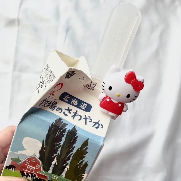 牛乳パッククリップ使用方法