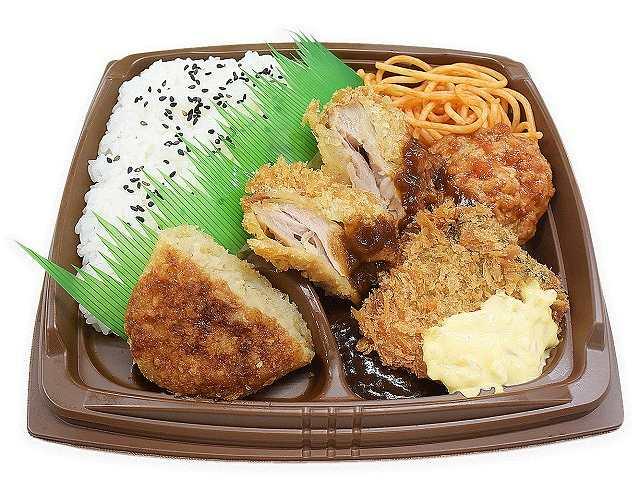 まんぷく!洋食ミックス弁当(鮭フライ入り)