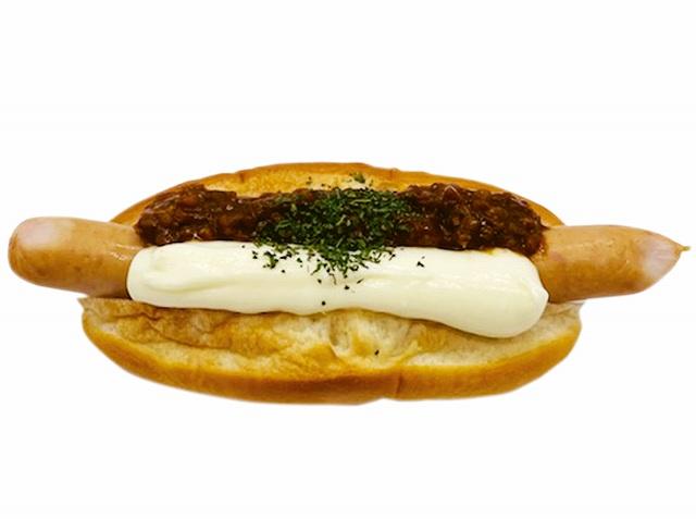 キーマカレー&チーズソースドッグ